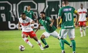 Titular no CRB, Claudinei quer evolução da equipe na reta final da Série B do Campeonato Brasileiro