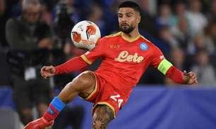 Ainda sem renovar com o Napoli, Insigne entra na mira de Inter de Milão e Manchester United