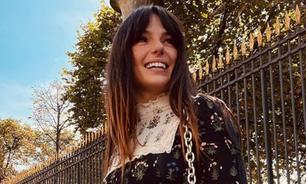 "Isis Valverde veste look ""Vovó Malfada"" usado 3 e 6 anos atrás"