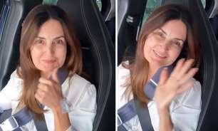Fátima Bernardes recebe alta após cirurgia no ombro