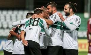 Adversário do Vasco, Coritiba é líder, tem a melhor defesa, mas não vence há três jogos na Série B