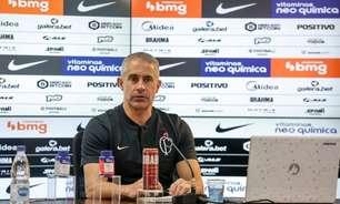 Sylvinho absorve bem as críticas no Corinthians, mas rebate exageros: 'Sabemos o que é limite e aceitável'