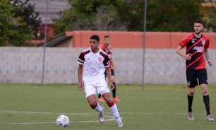 Volante do Flamengo celebra o primeiro gol pelo clube e projeta clássico decisivo no Brasileiro Sub-20