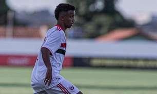 Destaque do São Paulo, Newertton projeta jogo de volta da semifinal da Copa do Brasil Sub-17 contra o Galo