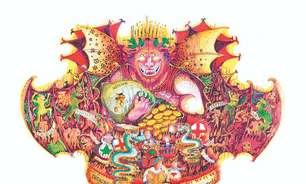 Exposição usa carnaval de Viareggio para homenagear Dante Alighieri no Rio