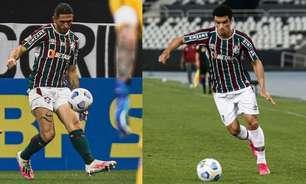 Egídio ou Danilo Barcelos? Fluminense sofre na lateral esquerda e jogadores comprometem resultados