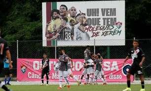 Vem que tem! Fluminense sub-17 vence Vasco pelo Carioca; sub-14 bate o Flamengo na Copa Brasileirinho