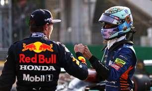 """Ricciardo evita apontar favoritos, mas diz que título de Verstappen """"seria mais popular"""""""