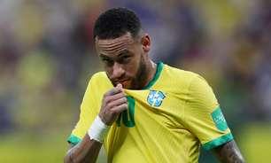 """Climão! Neymar curte comentário que chama Galvão de """"falso"""""""