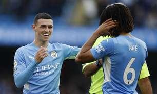 Em casa, Manchester City bate o Burnley em jogo tranquilo