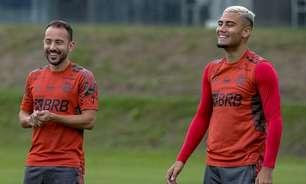 Com Everton Ribeiro e Gabigol, Flamengo faz último treino antes de enfrentar o Cuiabá; Isla é desfalque