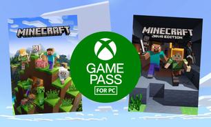 Minecraft chegará ao Game Pass para PC em novembro