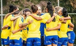 Equipe feminina do Cruzeiro faz carta aberta cobrando salários e mais atenção da diretoria celeste
