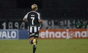 Rafael se recupera de lesão e volta a treinar com o grupo do Botafogo