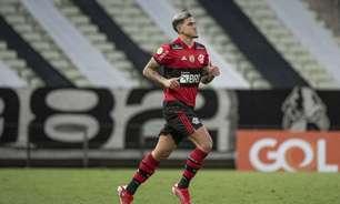 Ainda com dores no joelho, Pedro, do Flamengo, é vetado da partida contra o Cuiabá