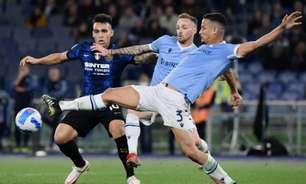 Zagueiro da Lazio, Luiz Felipe explica expulsão contra a Inter de Milão: 'Foi um ato inocente'