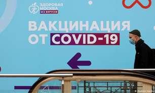 Rússia ultrapassa marca diária de mil mortes por covid