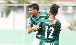 Palmeiras goleia pelo Campeonato Paulista Sub-15 e Sub-17