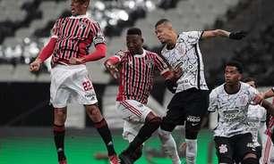 Retrospecto recente aponta equilíbrio grande entre Corinthians e São Paulo; últimos 2 jogos acabaram empatados