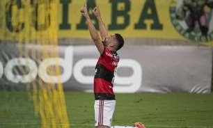 Thiago Maia pode alcançar a marca de 50 jogos com a camisa do Flamengo diante do Cuiabá