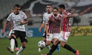 São Paulo x Corinthians: prováveis escalações, desfalques e onde assistir