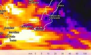 Alto risco de alagamentos e deslizamentos de terra no RJ