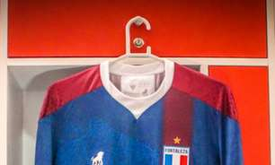 Fortaleza lança novo uniforme em comemoração ao aniversário de 103 anos do clube