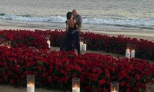 Kourtney Kardashian e Travis Barker anunciam noivado: 'Para sempre'