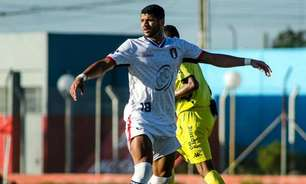 Atacante vibra com gol que deixa o União Suzano perto do acesso para a Série A3 do Paulistão