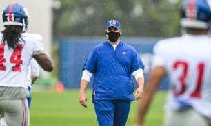 Joe Judge garante que New York Giants não vai 'desistir' da temporada após início desastroso