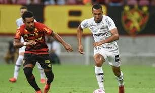 Lucas Braga lamenta empate do Santos e espera 'virada' com jogos em casa