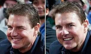 Tom Cruise chama atenção por sua aparência durante jogo de beisebol