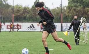 Flamengo: após lesão em jogo da Libertadores, David Luiz inicia atividades de transição no gramado