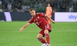 Kimmich, do Bayern, brinca sobre não estar na lista da Bola de Ouro: 'Não sou tão bom assim'