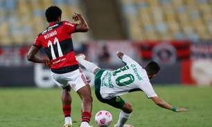 Patrocinador do Flamengo faz promessa inusitada em campanha para Vitinho não ocultar a marca