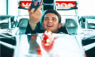 """Pato, sobre sonho de correr na F1: """"Seria mentira negar"""""""