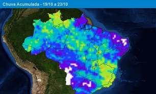 Chuva aumenta no Matopiba nos próximos dias