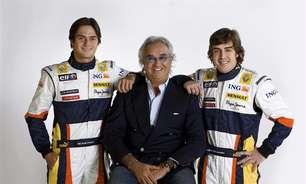 """Ao lado de Domenicali, Briatore sugere retorno à F1: """"Vai começar um novo capítulo"""""""