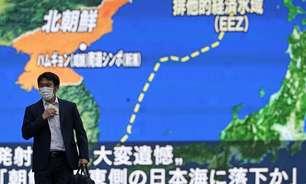 Coreia do Norte fez novo lançamento de míssil, acusa Seul