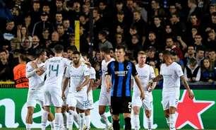 Manchester City domina o Brugge, goleia os belgas fora de casa e volta a vencer na Champions League