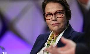 Tereza Cristina se dispõe a ir à China negociar retomada de exportação de carne bovina