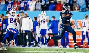 Com show de 'King Henry', Tennessee Titans vence o Buffalo Bills no fechamento da semana 6 da NFL