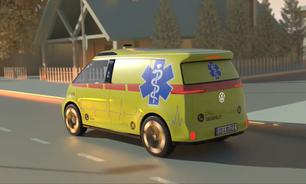 Volkswagen propõe Kombi elétrica e autônoma para ambulância