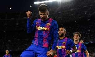 Com gol de Piqué, Barcelona bate o Dínamo de Kiev e vence a primeira na Champions League