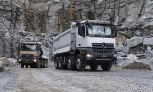 Mercedes-Benz lança caminhão para uso na mineração, de olho na alta dos preços das commodities