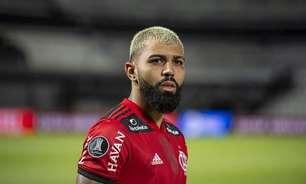 Gabigol responde torcedor após cornetada por jejum de gols: 'Qual nome do artilheiro do Brasil?