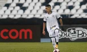 Recuperação relâmpago: Hugo tem retorno um mês antes do esperado e é relacionado pelo Botafogo