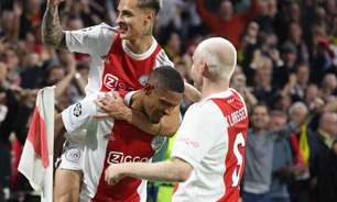 Após gol na Champions League, Antony celebra momento pelo Ajax: 'Noite especial'