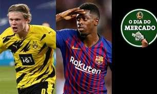 Chelsea volta a sondar Haaland, Dembélé é oferecido ao Newcastle, Andu Fati renova com o Barça até 2027... O Dia do Mercado!