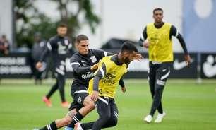 Renato Augusto e Giuliano fazem trabalho à parte, e Corinthians segue preparação para enfrentar o Inter